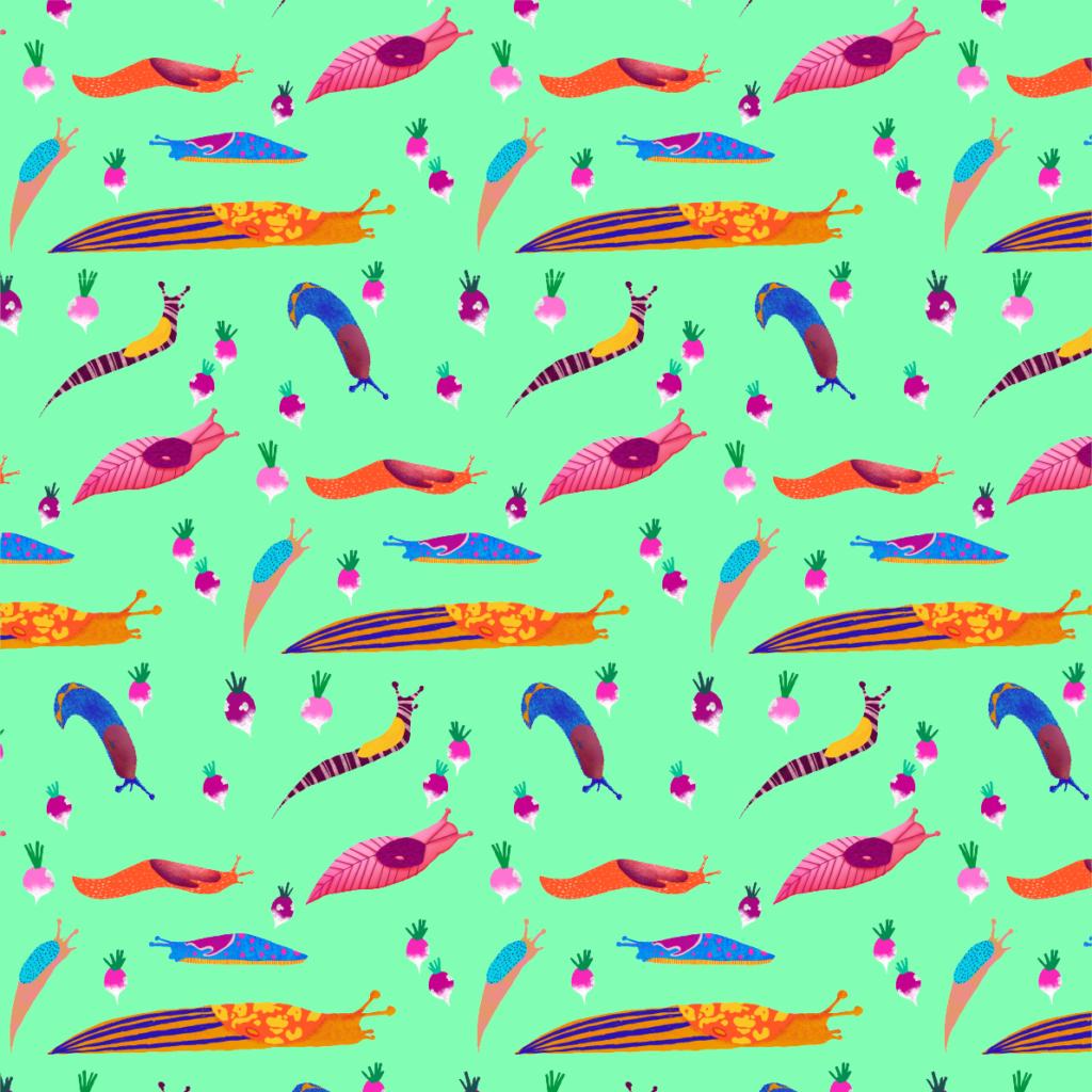 Limaces gloutones